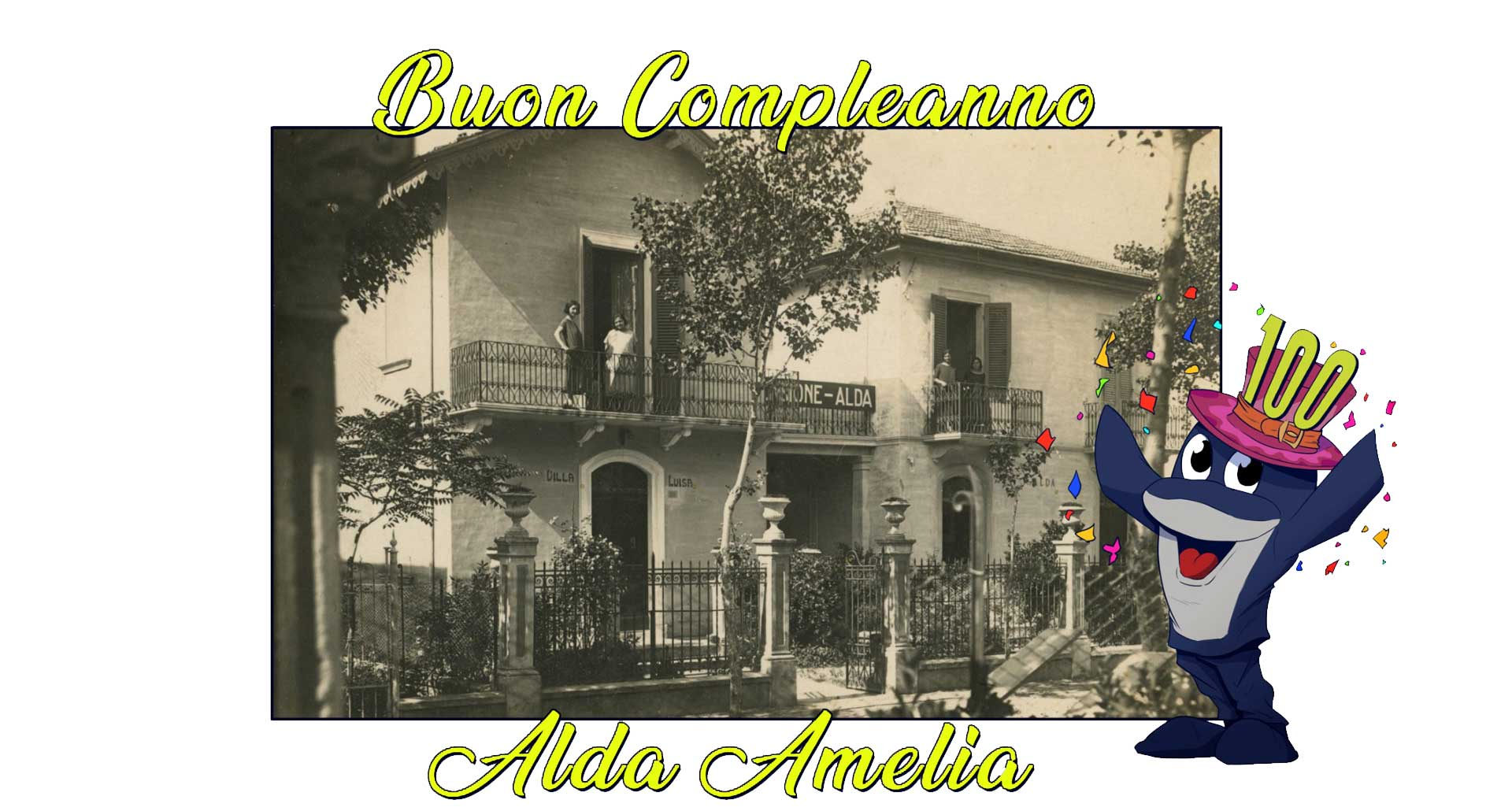Compleanno 100 anni Hotel Cattolica